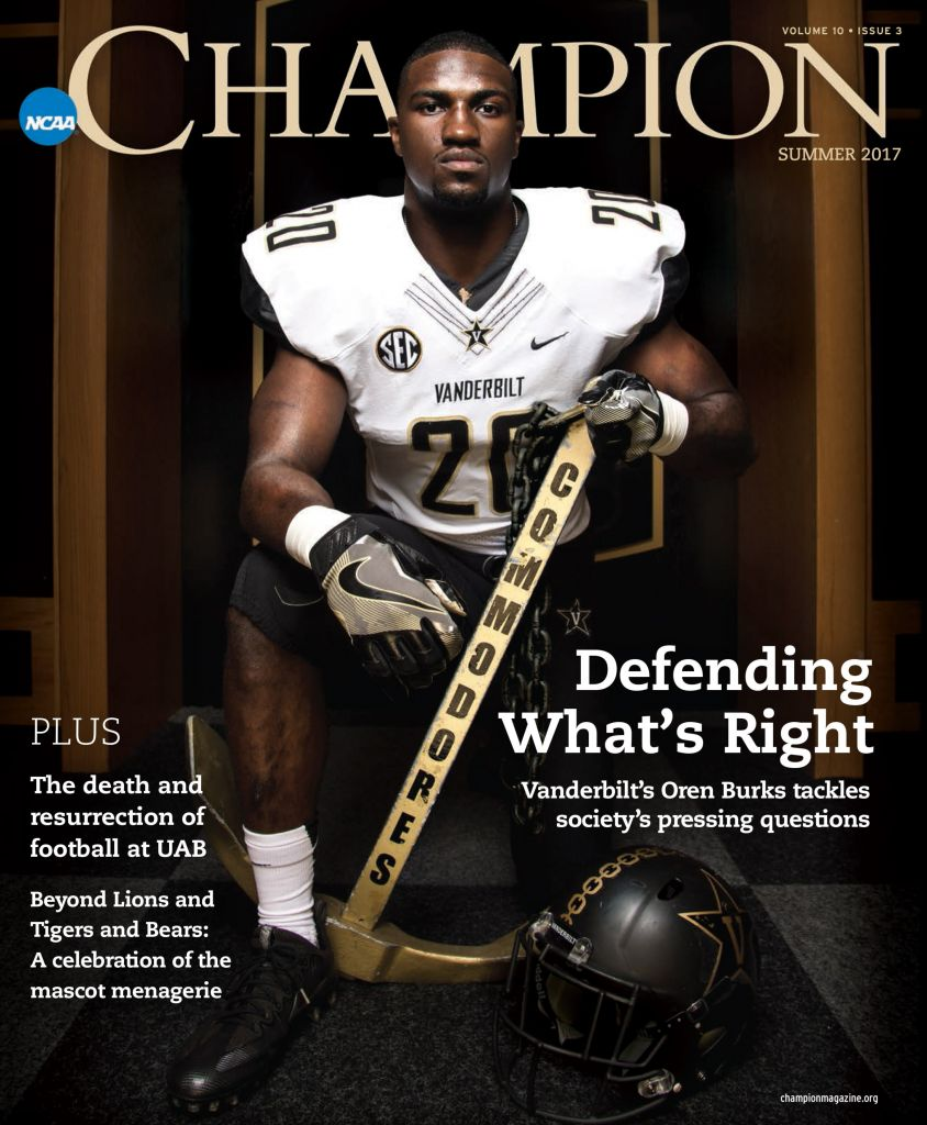 online retailer 9fab3 ae7e6 Burks featured in NCAA magazine – Vanderbilt University ...