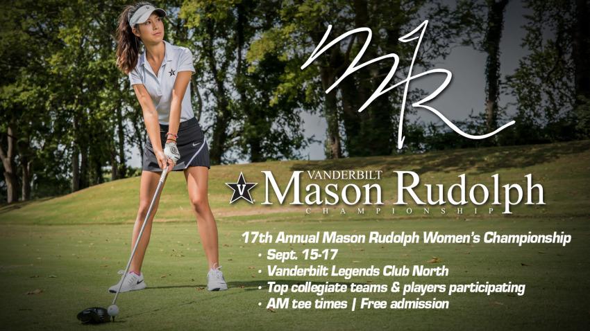 Strong Field For Mason Rudolph Sept 15 17 Vanderbilt University Athletics Official Athletics Website