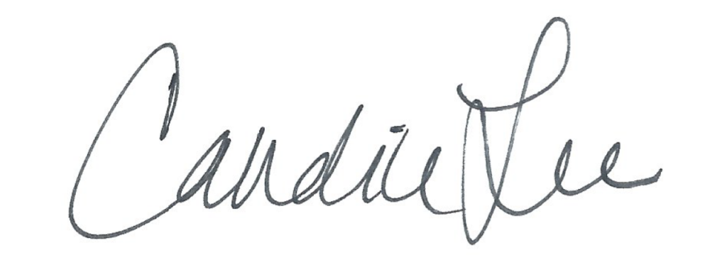 Candice Lee Signature