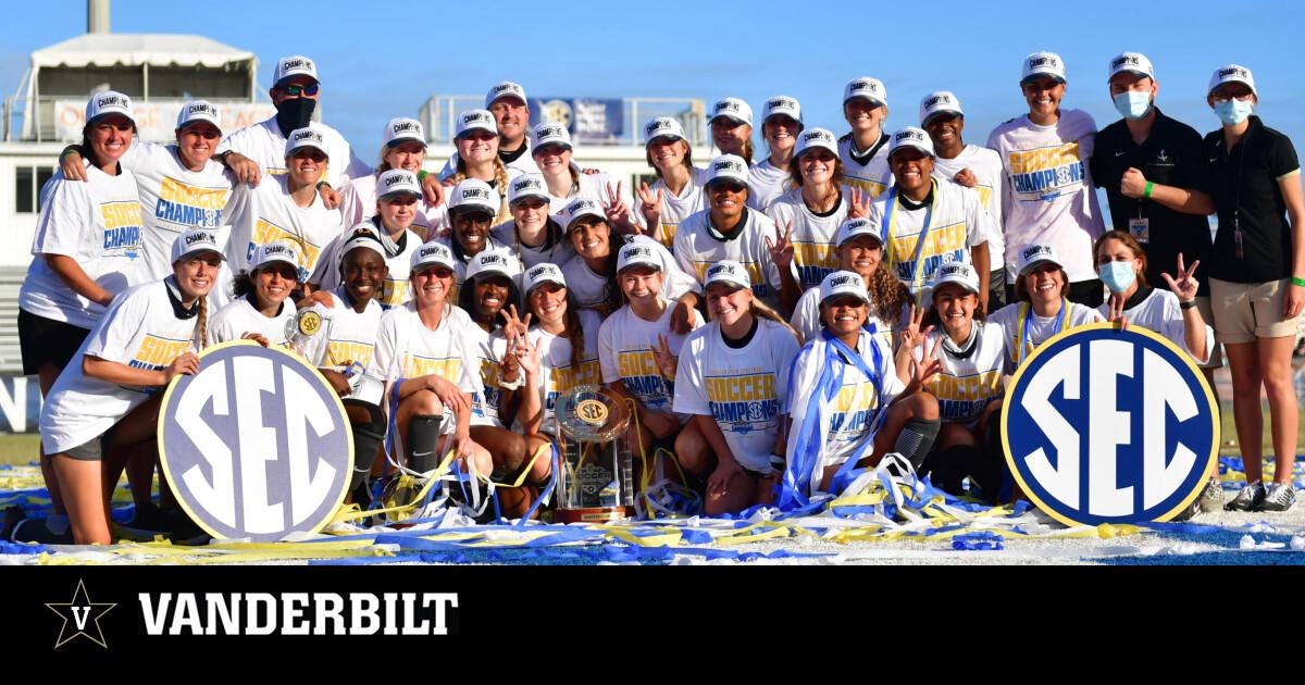 Vanderbilt Soccer | Vanderbilt Wins 2020 SEC Championship
