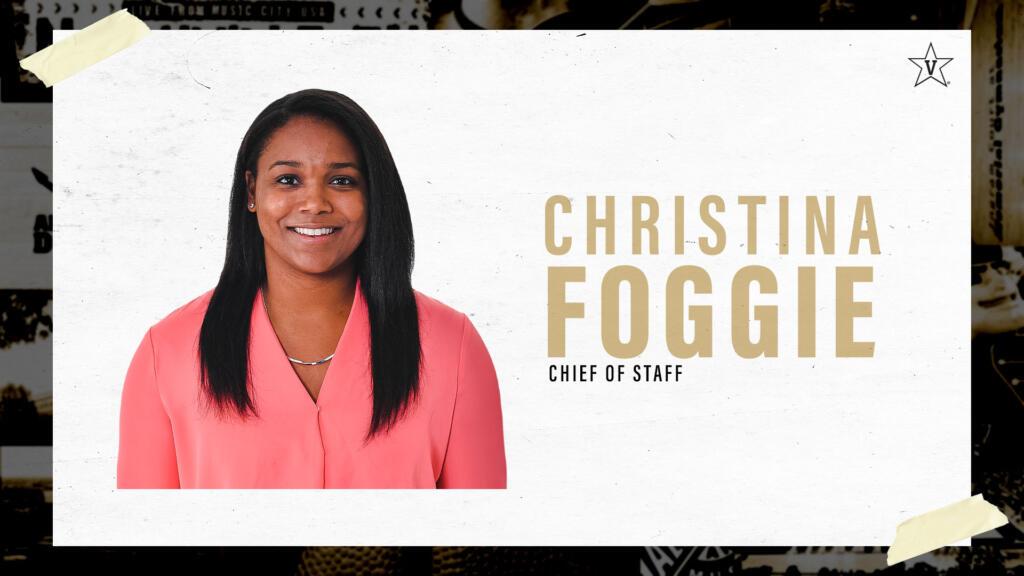 Christina Foggie Announcement
